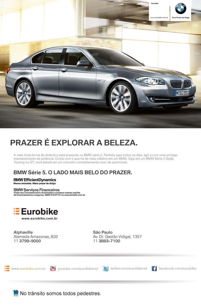 eMail Mkt BMW serie 5 17/02/2012