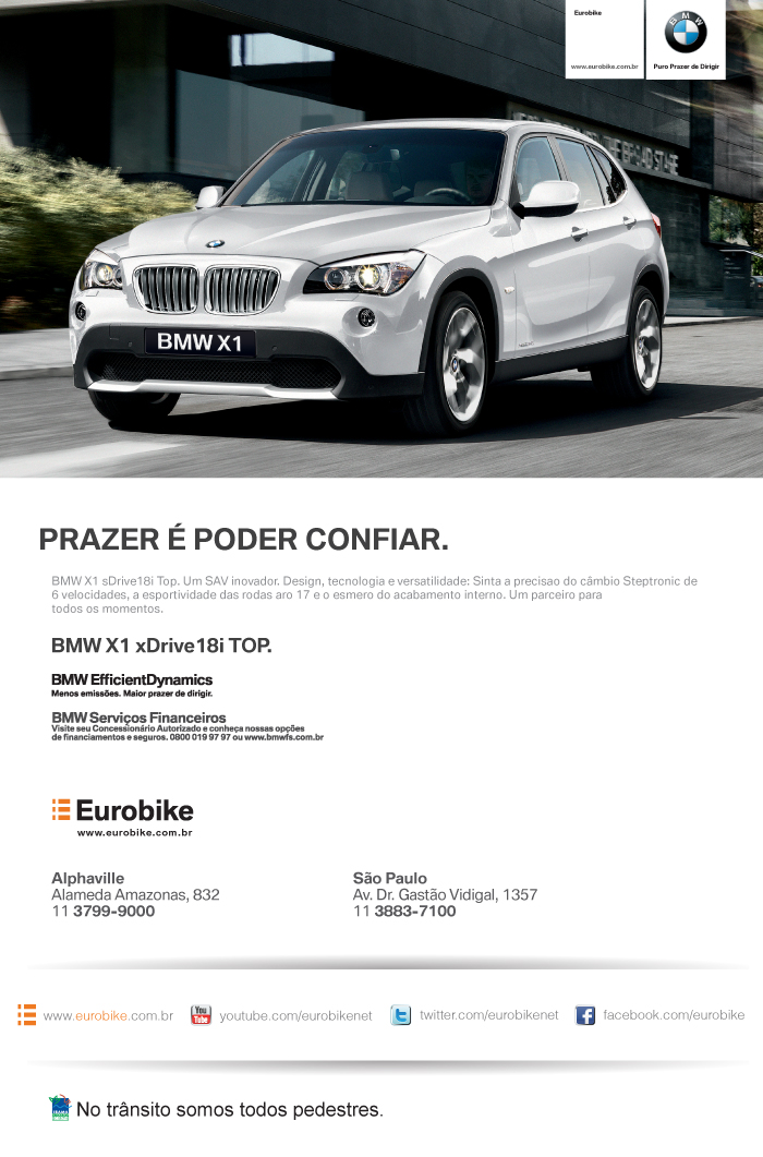 eMail Mkt BMW X1 sDrive18i 14/02/2012