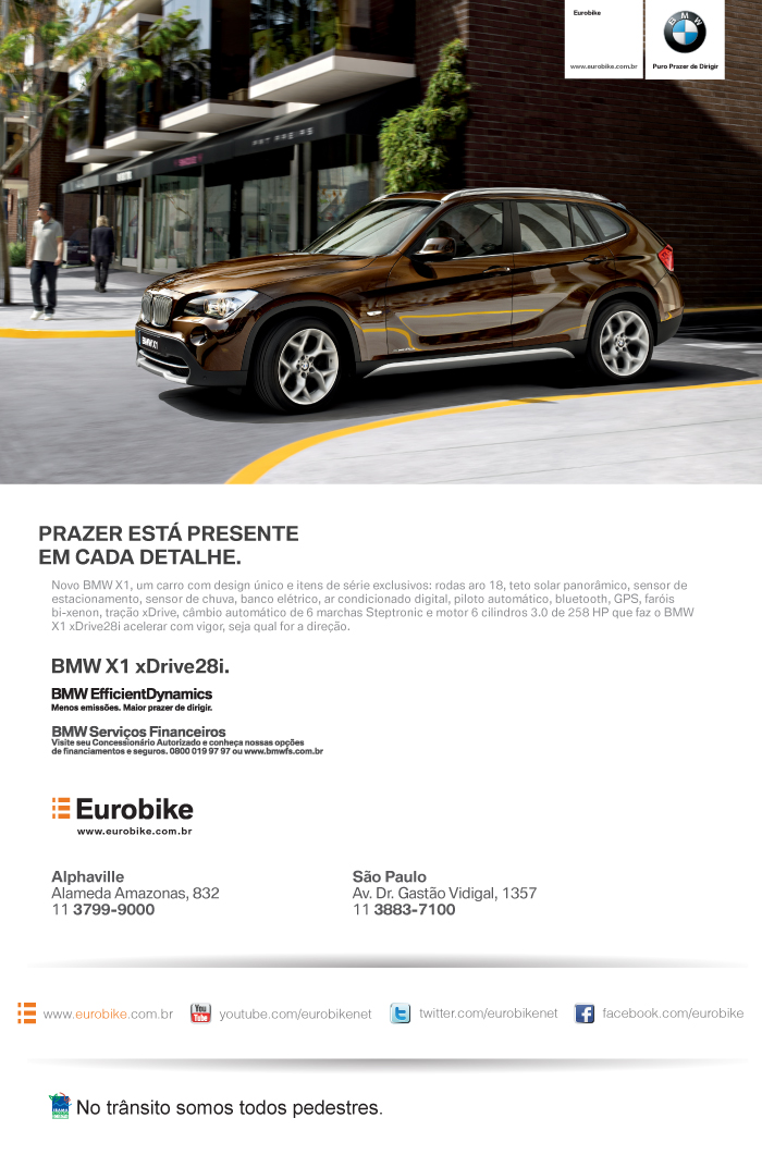 eMail Mkt BMW X1 sDrive28i 14/02/2012